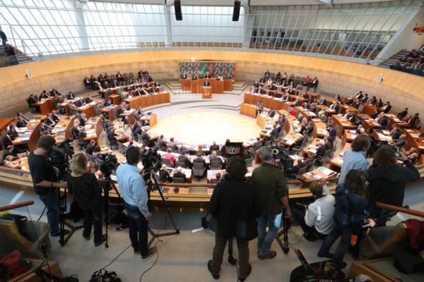 Blick in den nordrhein-westphälischen Plenarsaal